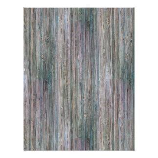 Weather-beaten Bamboo Wood Grain Look 21.5 Cm X 28 Cm Flyer