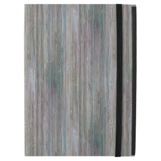 """Weather-beaten Bamboo Wood Grain Look iPad Pro 12.9"""" Case"""