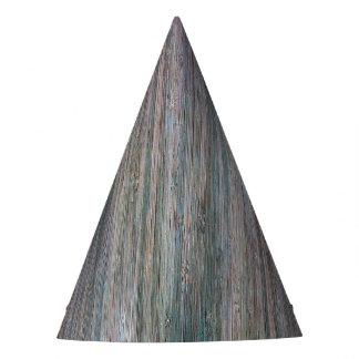 Weather-beaten Bamboo Wood Grain Look Party Hat