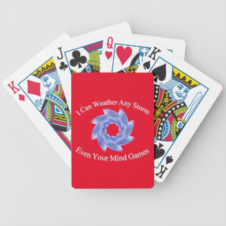 Weather Bicycle Playing Cards