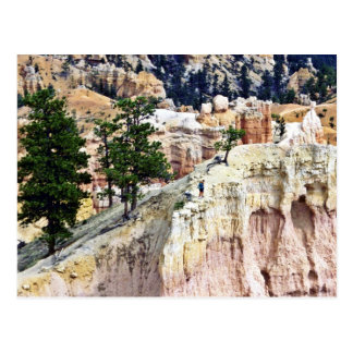 Weather Carved Pinnacles - Bryce National Park Postcard