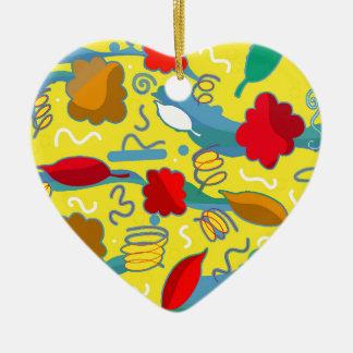 Weather Ceramic Heart Decoration