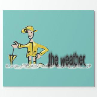 Weather Forecast in rainwear
