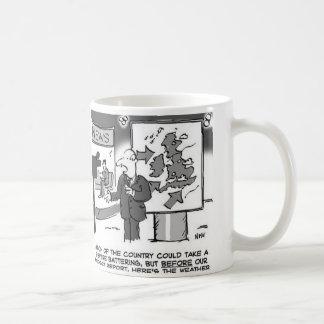Weather Forecast on Budget Day Coffee Mug