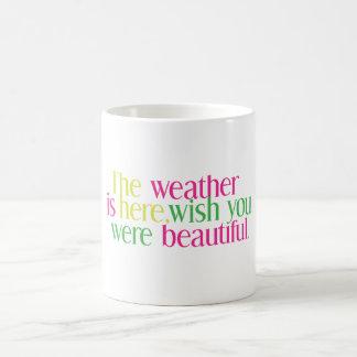 Weather Here Coffee Mug