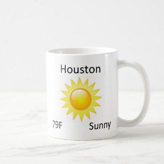 weather Houston Coffee Mug