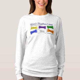 Weather Litter Women's Ash Long Sleeve T-Shirt