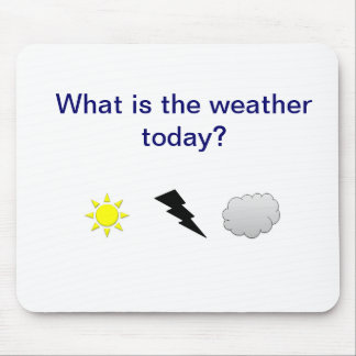 Weather Mouse Pad