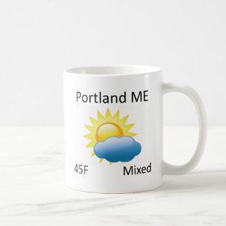 weather Portland ME Coffee Mug