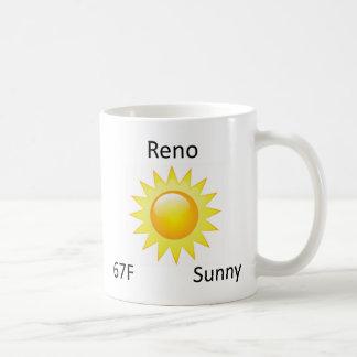weather Reno Coffee Mug