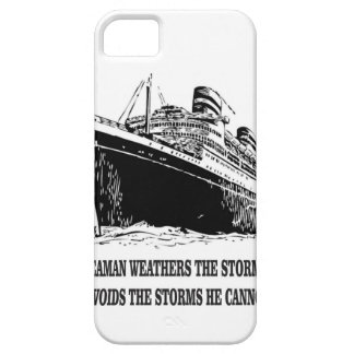 weather the storms wise one iPhone 5 covers