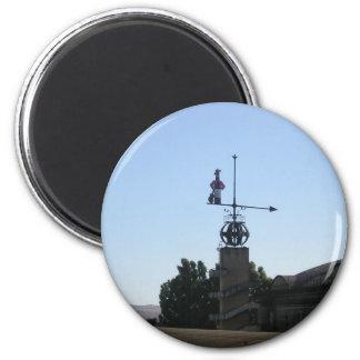 Weather Vane 6 Cm Round Magnet