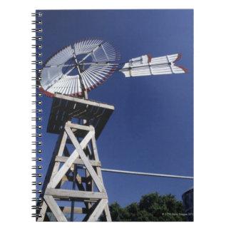 Weather vane and water tank, San Antonio, Texas, Notebooks