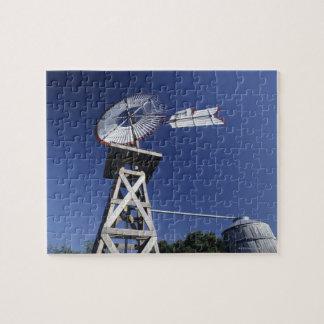Weather vane and water tank, San Antonio, Texas, Puzzle