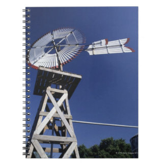 Weather vane and water tank, San Antonio, Texas, Spiral Note Books