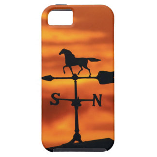 Weather Vane at Sunset iPhone 5 Cover