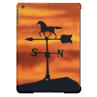 Weather Vane at Sunset iPad Air Case