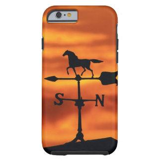 Weather Vane at Sunset Tough iPhone 6 Case