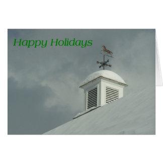 Weather Vane Greeting Card