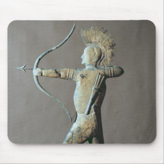 Weather vane in the form of an American Indian Mousepad