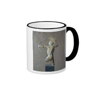 Weather vane in the form of an American Indian Mug