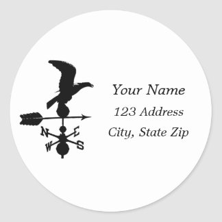 Weather Vane Silhouette Stickers