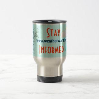 Weather wars travel mug