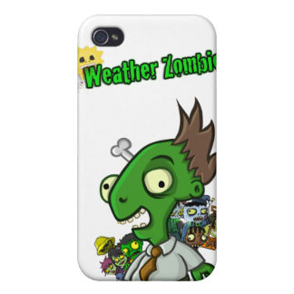 Weather Zombie iPhone Case Cover For iPhone 4