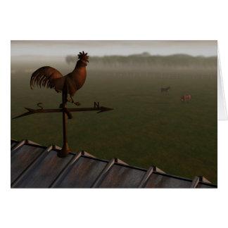 Weathercock Card