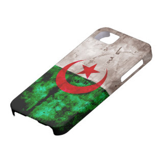 Weathered Algeria Flag iPhone 5 Covers