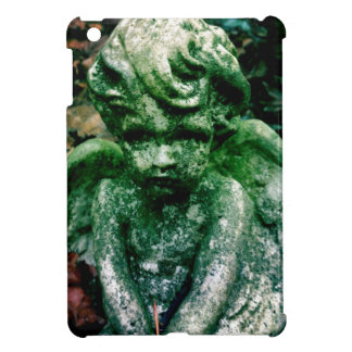 Weathered angel cover for the iPad mini
