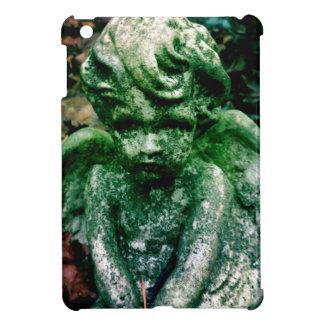 Weathered angel iPad mini cover