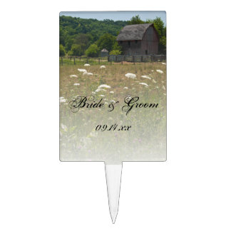 Weathered Barn Country Wedding Cake Toppers