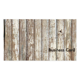 Weathered Barn Wood Standard Business Cards