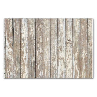 """Weathered Barn Wood 10"""" X 15"""" Tissue Paper"""