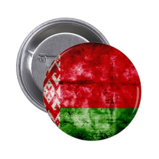 Weathered Belarus Flag Buttons