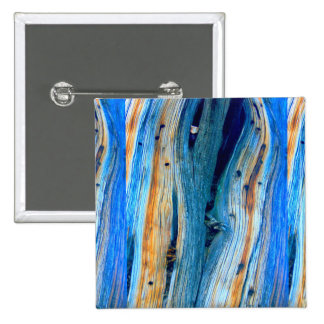 weathered blue barnboard 15 cm square badge