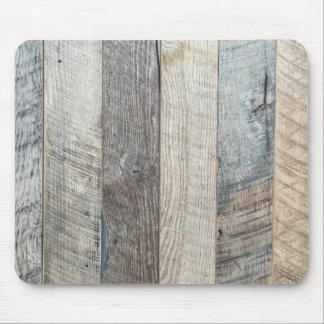 Weathered Boards Wood Plank Background Texture Mouse Pad