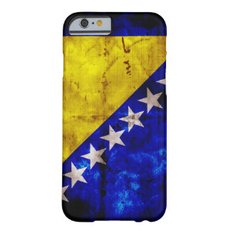 Weathered Bosnia Flag Barely There iPhone 6 Case