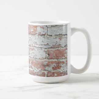 Weathered Brick Wall Basic White Mug