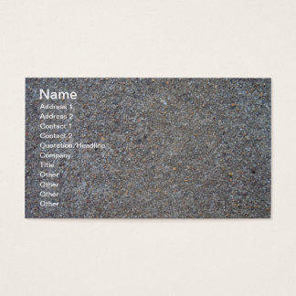 Weathered Concrete Business Card
