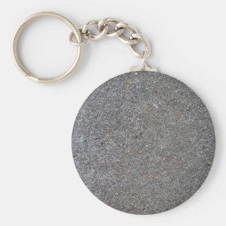 Weathered Concrete Key Ring