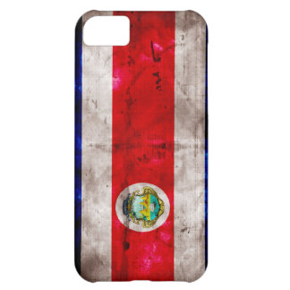 Weathered Costa Rica Flag iPhone 5C Covers