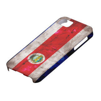 Weathered Costa Rica Flag iPhone 5 Cover