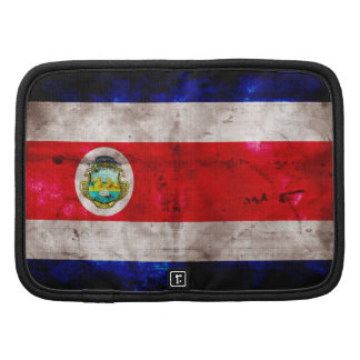 Weathered Costa Rica Flag Planner