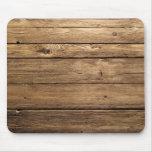 Weathered Dark Planks Mousepad