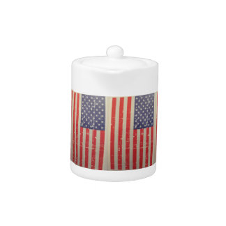 Weathered, Distressed American USA Flag