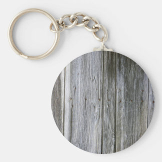 Weathered Door Planks Key Ring