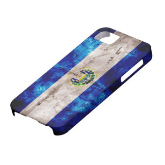 Weathered El Salvador Flag iPhone 5 Covers