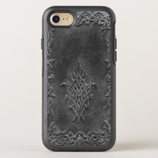 Weathered Embossed Celtic Knot Pattern OtterBox Symmetry iPhone 8/7 Case